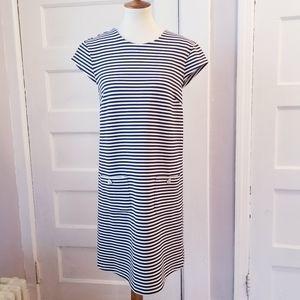 JB by Julie Brown NYC Striped Shift Dress, Size M